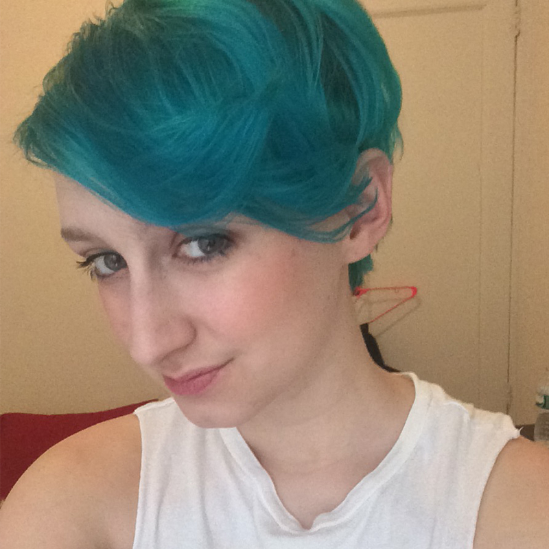 abbastanza Manic Panic Enchanted Forest Review: I Turned My Whole Body Blue  LR32