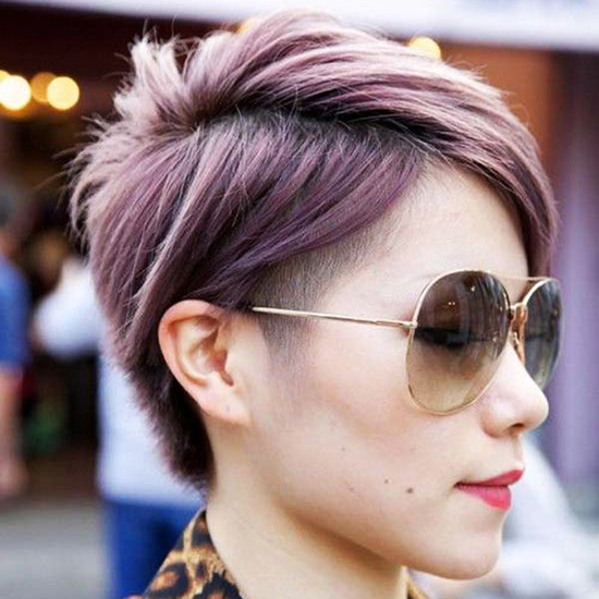 Pastel Colored Pixie Cuts That Prove Fairy Hair Is Better Than