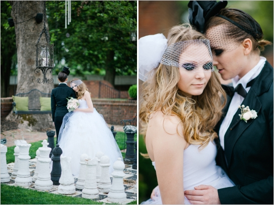 gay wedding style inspiration